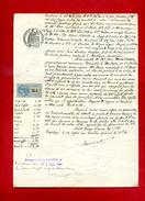 Facture Le 28/10/1911  Paul Loubens Barbazan à Bares St Beat 1 Timbre Fiscal  De Copies   Dossier Factures 2 - Fiscali
