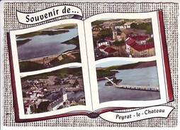 87 Peyrat Le Château - Vassivière: Le Barrage - Vue Générale - Multivues - France