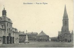 SAINT-GHISLAIN : Place De L'Eglise - Saint-Ghislain