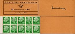 Markenheftchen Bund Postfr. MH 06 Fb Postfrisch MNH ** (1) - [7] Federal Republic