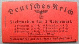 ALLEMAGNE - III REICH / 1941 CARNET COMPLET ** / MICHEL # 39.4 / COTE 200.00 EUROS / 8 IMAGES (ref 7489) - Germany