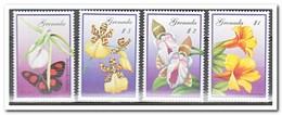 Grenada 2000, Postfris MNH, Flowers, Orchids, Butterflies - Grenada (1974-...)