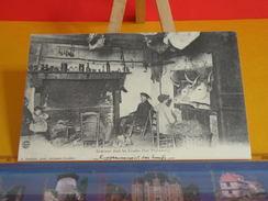 Cartes Postales > [40] Landes >  Engraissement Des Boeufs La Vie à Cette époque - Réédition & Illustrée - Unclassified