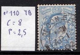 N°110 TB - 1902-1951 (Re)