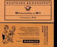 Markenheftchen Bund Postfr. MH 07 A I Postfrisch MNH ** (1) - [7] West-Duitsland