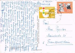 23685. Postal Aerea AZEITAO (Portugal) 1965. Remitida De ARRABIDA