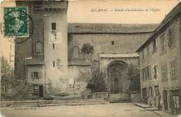 19 - 240317 - ALLASSAC - Détails D'architecture De L'église - Autres Communes