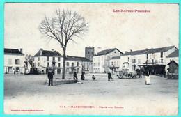631 - MAUBOURGUET - PLACE AUX GRAINS - Maubourguet