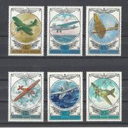 RUSSIE . YT PA 132/137 Neuf ** Histoire De L'aviation Russe 1978