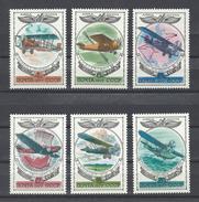 RUSSIE . YT PA 124/129 Neuf ** Histoire De L'aviation Russe 1977