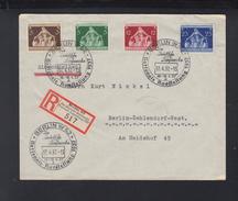 Dt. Reich R-Brief 1937 Sonderstempel Nationale Ausstellung 1937 - Briefe U. Dokumente