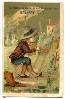 Chicorée RAVERDY - Le Peintre - Voici Un Motif Charmant - Chromos