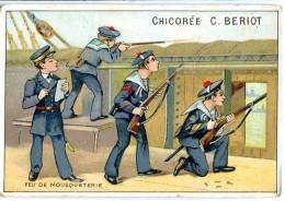 Chicorée C. BERIOT - Marins - Feu De Mousqueterie - Chromos