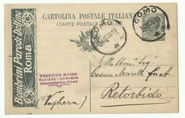 Cartolina + Publicita Per La Croce Rossa, Como 17 12 20 - 1900-44 Victor Emmanuel III
