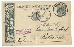 Cartolina + Publicita Per La Croce Rossa, Como 17 12 20 - Pubblicitari