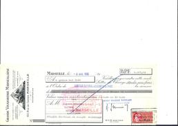 Ref 26/ 13, Marseille, Vinaigrerie, 1966, Pour Roquevaire 13 - Banque & Assurance