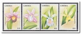 Liberia 2000, Postfris MNH, Flowers, Orchids - Liberia