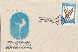 GYMNASTICS, SPECIAL COVER, 1980, ROMANIA