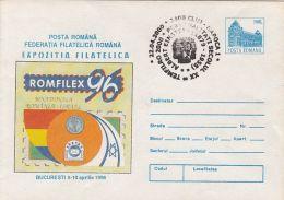 ALBERT EINSTEIN,  SPECIAL POSTMARK ON PHILATELIC EXHIBITION COVER STATIONERY, ENTIER POSTAL, 2000, ROMANIA