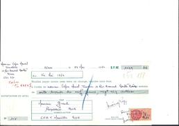 Ref 26/ 30, Nimes, Capon,  Tonnelier, 1964,  Pour Roquevaire 13 - Banque & Assurance