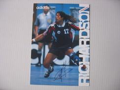 Handball - Carte Signée Jackson Richardson - Pallamano