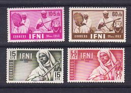 IFNI  1953. PRO INFANCIA  .EDIFIL Nº 95/98  NUEVA SIN  GOMA   SES508GRANDE - Ifni