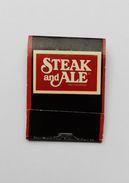 Pochette D'allumettes Steak And Ale USA