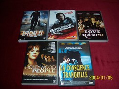 LOT DE 5 DVD ROMANTIC  POUR 10 EUROS ( Lot  16 / 40 4 ) - Romantic