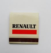 Pochette D'allumettes Renault Seita France