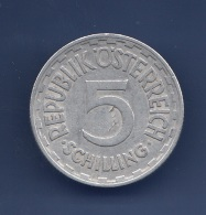 5 Schilling 1952 Al - Münze Österreich, Dm 31 Mm, Gute Erhaltung - Monnaies