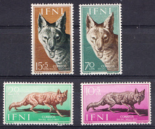 IFNI  1957. DIA DEL SELLO  .EDIFIL Nº 138/141 NUEVA SIN  GOMA   SES508GRANDE - Ifni