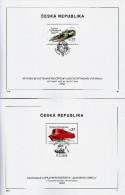 Czech Republic - 2016 - Historical Vehicles - Paddle Steamer Vysehrad And Slovenska Strela Train - FDS Set - Czech Republic