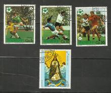 Paraguay POSTE AERIENNE N°882 à 884, 886 Cote 4.25 Euros - Paraguay