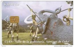 69 TARJETA DE CUBA DE UN MAMUT (ELEFANTE-ELEPHANT) - Cuba