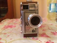 Camera Keystone Olympique Ancien Vintage.K-32-8 Mm-USA - Appareils Photo