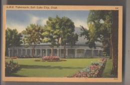 L.D.S. TABERNACLE - SALT LAKE CITY - Utah - Salt Lake City
