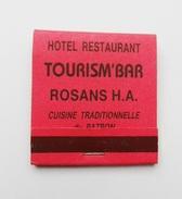 Pochette D'allumettes Hotel Restaurant Tourism' Bar Seita France
