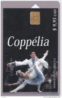 153 TARJETA DE CUBA DEL COPPELIA (BALLET) - Cuba