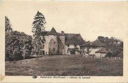 87. SAINT CYR.  CHATEAU DE LASCAUD - Autres Communes