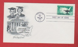 USA  --  Higher Education  --  Washington --  14 Nov 1962 - Event Covers