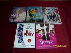 LOT DE 5 DVD ROMANTIC  POUR 10 EUROS ( Lot  16 / 40 7 ) - Romantic