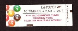 1991 - Carnet N° 2715-C7 - Neuf ** (fermé) - Marianne De Briat - Publicité M&M's - Markenheftchen