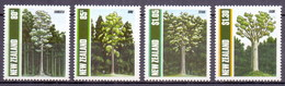 New Zealand 1989 Native Trees (4v) MNH (M-406)