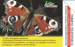 UR-032 TARJETA DE CUBA DE UNA MARIPOSA (BUTTERFLY)