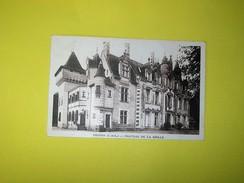Carte Sépia   CHINON (I.et.L.) . CHATEAU DE LA GRILLE - Chinon