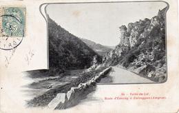 - Route D´Estaing à Entraygues -1907- - France