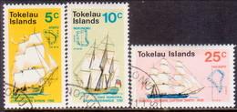 TOKELAU 1971 SG 22-24 Compl.set Used Discovery Of Tokelau - Tokelau