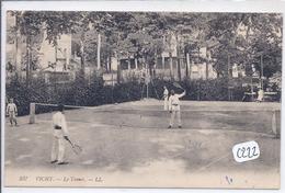 VICHY-- LE TENNIS- UN JOUR DE MATCH - Vichy