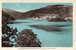 - L´Hospice De La Daveze Et Le Lac- - France