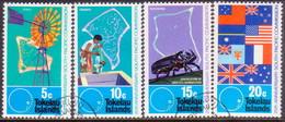 TOKELAU 1972 SG 33-36 Compl.set Used South Pacific Commission - Tokelau